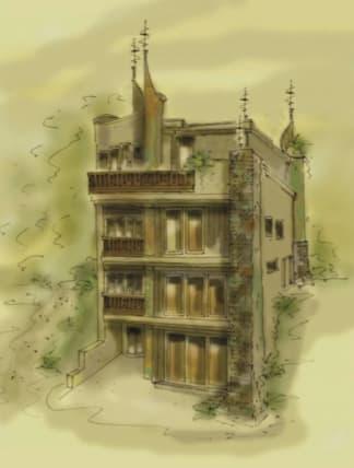 Lakeside house plan