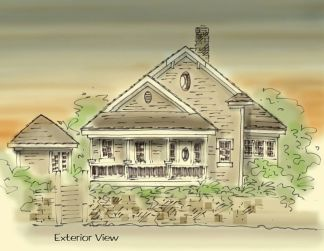 old fashioned house plan
