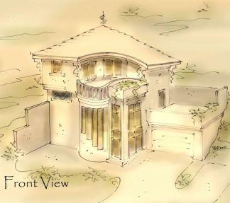 tropical house plan