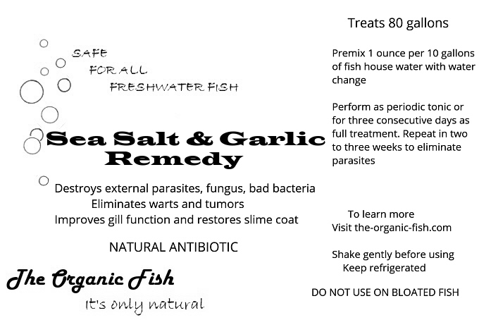 sea salt and garlic remedy