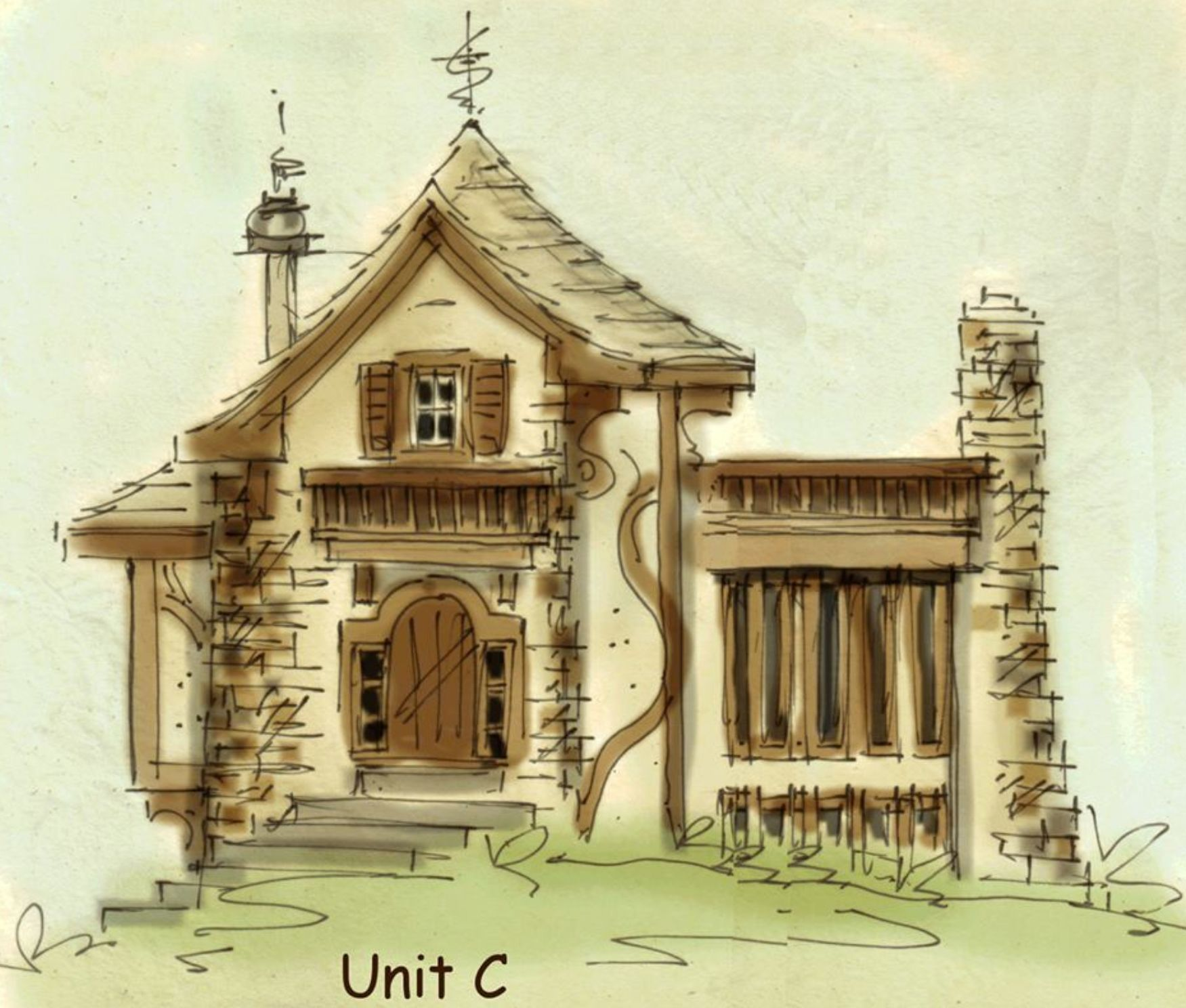 fairy tale house plan - Fairy Tale House Plans