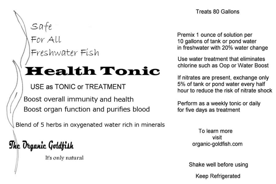 easy goldfish cure