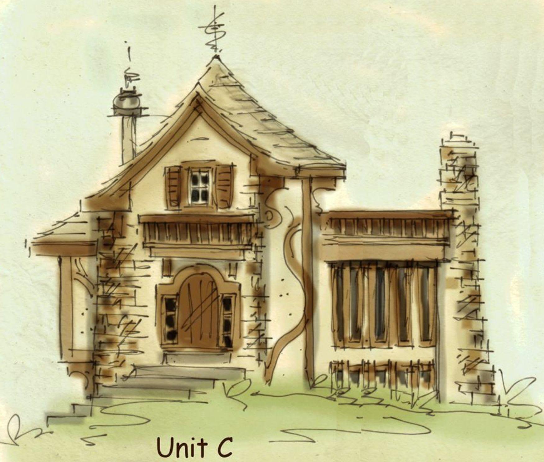 Fairy tale house plan, Unique house plans exclusive collection