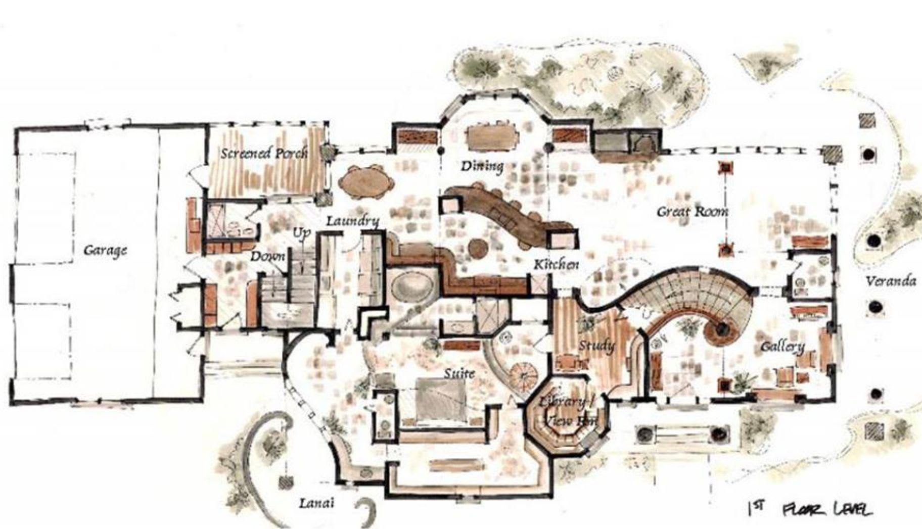 Chateauesque House Plan Unique House Plans Exclusive Collection