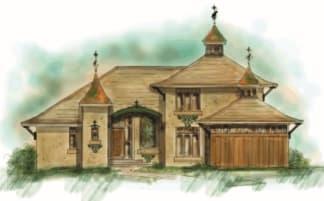 Oriental House Plan