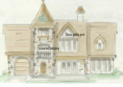 Chateau house plan