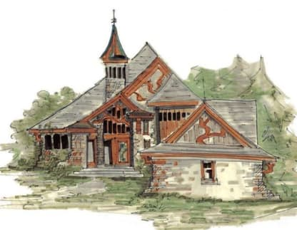 Eclectic house plans