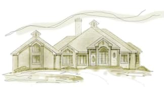French House Plan