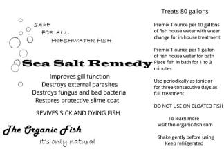 sea salt remedy