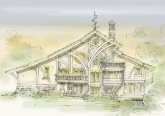 original house plan