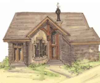 One story house plan