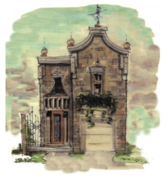 narrow lot house plan