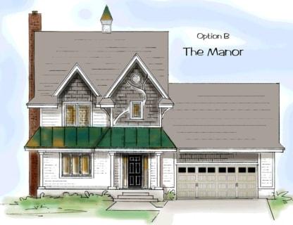 Victorian house plan