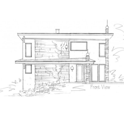 Studio house plan