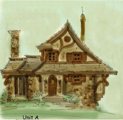 story book house plan