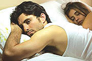 Man cannot sleep