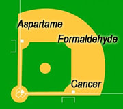 From aspartame to formaldehyde to cancer