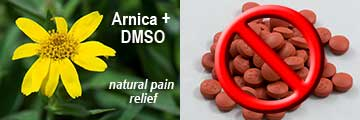 YES to Arnica + DMSO, NO to Ibuprofen