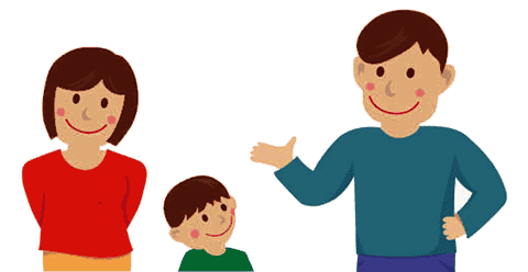 Young Couple and Son