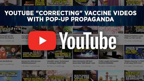 YouTube correcting vaccine videos