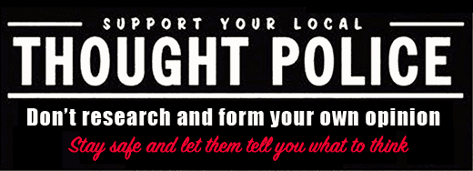 Support Your Local Thought Police