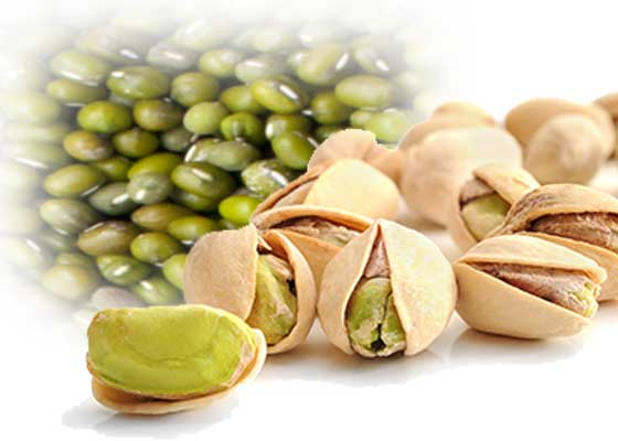 Two food sources for lithium: lentils and pistachios