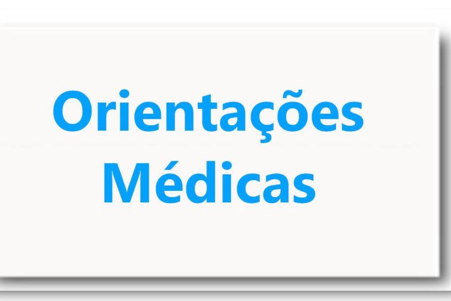 Orientações Médicas - Imagem destacada padrão