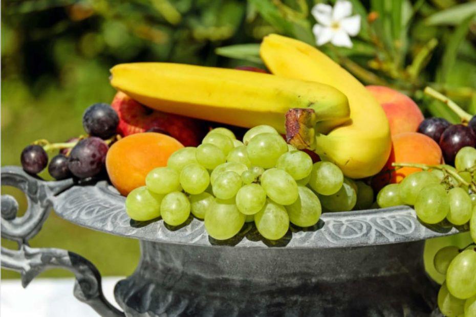 tabela de calorias de frutas