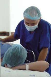 médico paciente