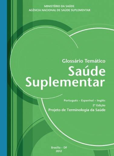 Glossário Temático da Saúde Suplementar