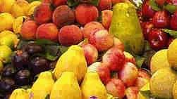 Frutas têm diversas propriedades