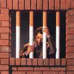 Os ganhos e benefícios ao parar de fumar. Cigarro prisão