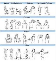 ombros alongamento