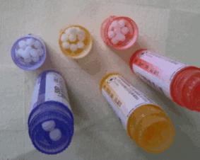 Medicação homeopática