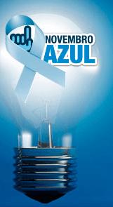 Novembro Azul, prevenção ao câncer de próstata.