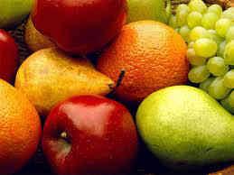 tabela de calorias frutas