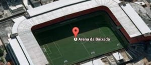Arena da Baixada - Google Maps