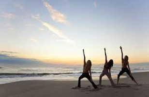 mantendo a forma com ioga