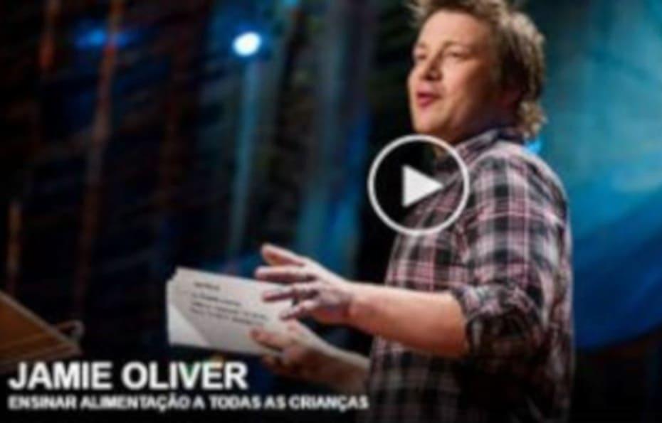 Uma Revolução Alimentar por Jamie Oliver - destacada