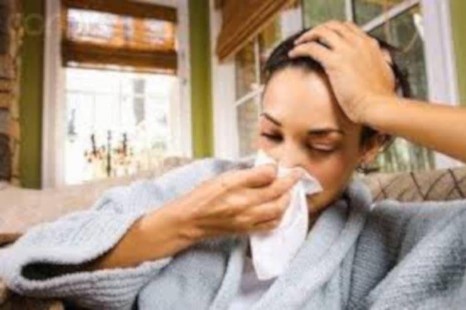 Em caso de alergia respiratória - destacada