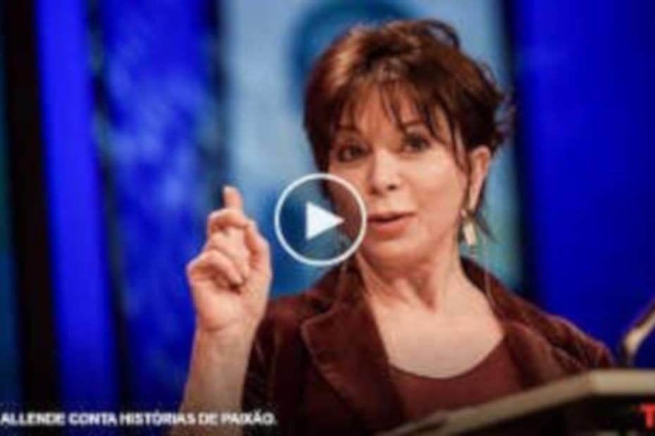 Excelente video com Isabel Allende - destacada