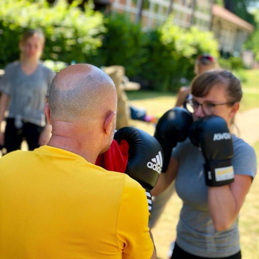 Personal Trainer Outdoor Training Julia Oestreich