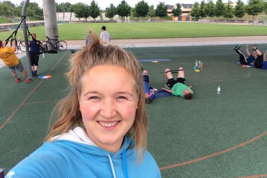 Anne - Personal Trainerin aus Potsdam