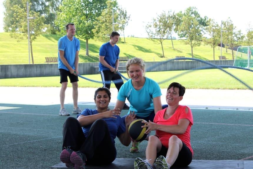 Anne Rödiger ist Personal Trainerin mit Leib und Seele