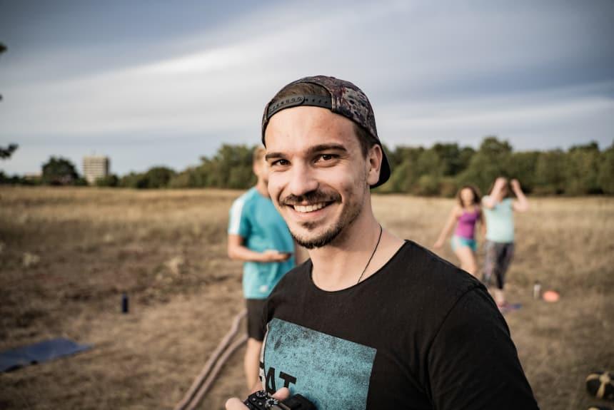 Jurij Störzel beim Original Bootcamp Fotoshooting