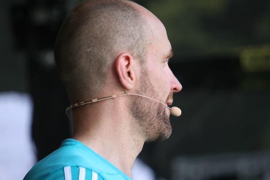 Helge Thorn beim Coaching