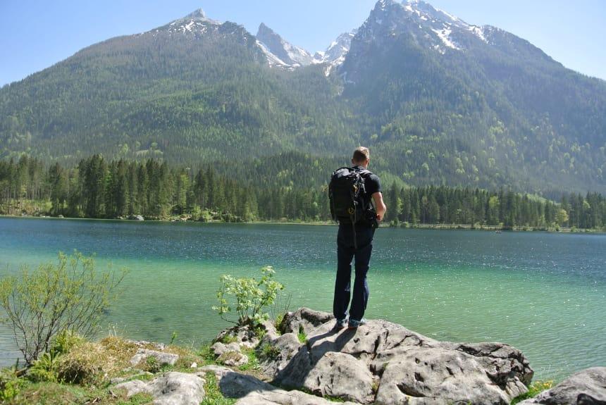 Andreas Niggl liebt es in den Bergen zu sein