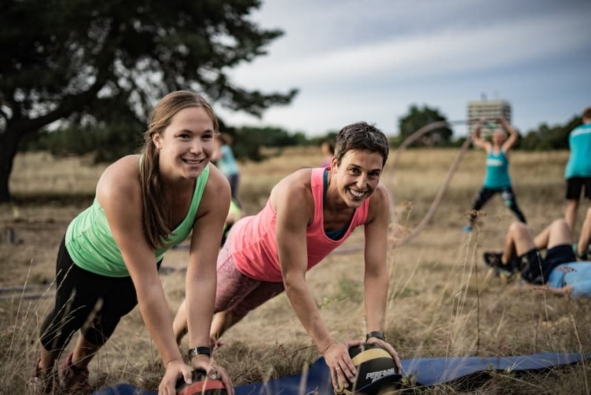 Outdoor Fitness mit Maike