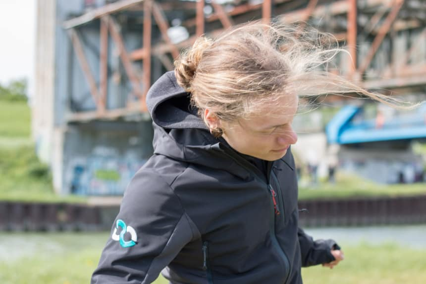 Training an der frischen Luft