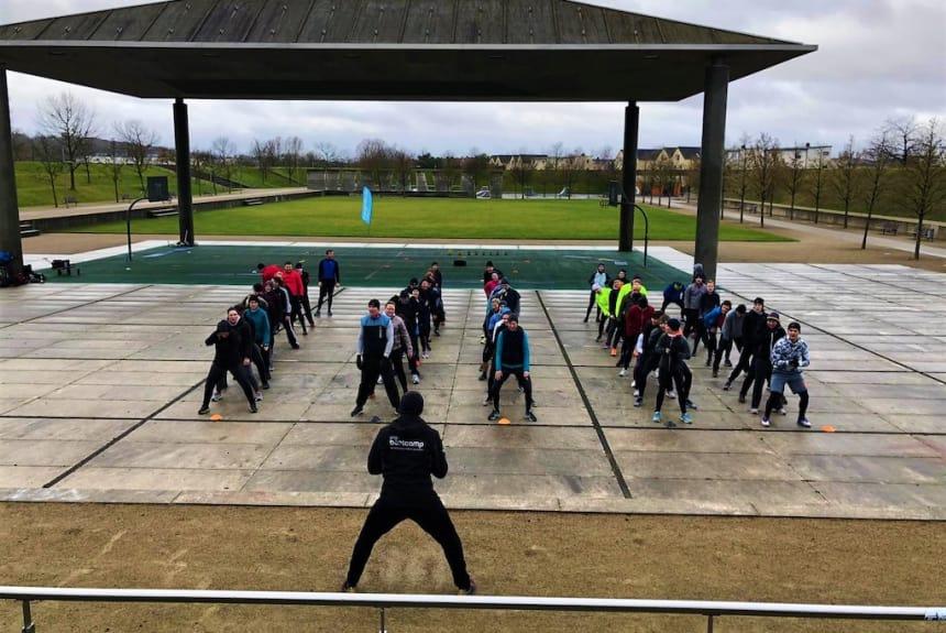 Bootcamp an der Location im Volkspark!
